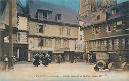 VANNES - N° 51 - VIEILLES MAISONS DE LA PLACE HENRY IV - Vannes