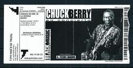 Chuck Berry (Entrada) 2005 - Entradas A Conciertos