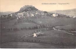 12 - SEVRAC LE CHATEAU : Vue Générale - CPA - Aveyron - France