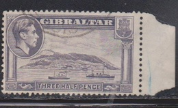 GIBRALTAR Scott # 110 Used - KGVI & Ships - Gibraltar