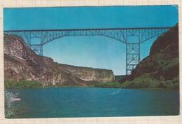 8AK4316 PERRINE MEMORIAL BRIDGE RIM TO RIM BRIDGE  2 SCANS - Idaho Falls