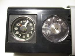 MINI Radio Sveglia Da Viaggio  SANWA Anni 70 - Sveglie