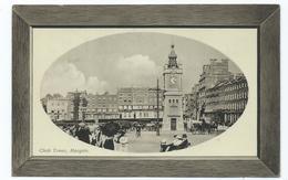 Kent  Postcard Margate Clock Tower .publ. H.s. Margate Posted 1910 - Margate