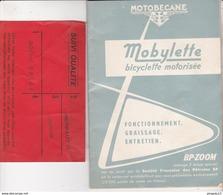 Au Plus Rapide Livret Fonctionnement Mobylette Plus Fiche De Suivi De Qualité - Motos