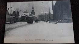 CPA DANNEMARIE HTE ALSACE HT RHIN 68 SOUS LA NEIGE CAMION 1916 - Dannemarie