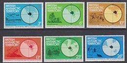 British Antarctic Territory 1982 Gondwana 6v ** Mnh (41660) - Ongebruikt