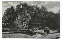 Wales Powys Montgomery Castle From Station Road Publ. R Maddox Rp - Unknown County