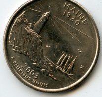 US Uncirculated State Quarters 2003 Maine - Émissions Fédérales