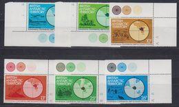British Antarctic Territory 1982 Gondwana 6v (corners) ** Mnh (41661) - Brits Antarctisch Territorium  (BAT)