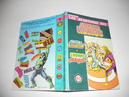 Les Aventures Des Super Heros N° 6005 : 2 N° : Le Pays De L'illusion Et L'homme Traque - Flash