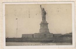 8AK4319 THE STATUE OF LIBERTY 1931  2 SCANS - Statue De La Liberté