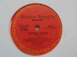 Paul McCartney & Wings- Goodnight Tonight/Daytime Nighttime Suffering (maxi ) - 45 Rpm - Maxi-Singles