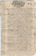 VP14.181 - MAGLAND - Acte 1763 - Rentre Constituée Par Sr Joseph GUY Curé .....contre J. JACQUIER De TANINGES - Manuscripts