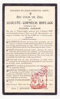 DP Auguste C. Hoflack ° Vlamertinge 1899 † Ieper 1933 X J. Goeman - Santini