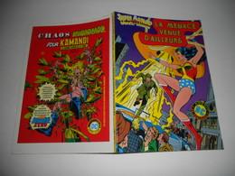 Super Action Avec Wonder Woman N° 10 : La Menace Venue D'ailleurs  DC AREDIT - Flash