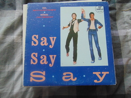 Paul McCartney & Michael Jackson- Say Say Say(maxi 33t) - 45 Rpm - Maxi-Single