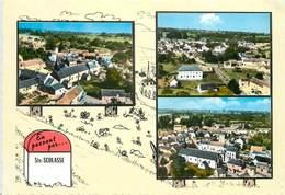 SAINTE SCOLASSE - L'église Et Vues Générales.carte Multi-vues - Autres Communes