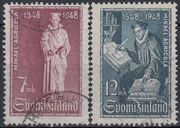 FINLANDIA 1948 Nº 342/43 USADO - Finlandia