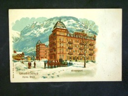 SVIZZERA -GRINDELWALD SCHWEIZ-F.P. LOTTO N°642 - AI Appenzell Inner-Rhodes
