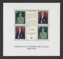 GABON. YT Bloc N° 17  Neuf **   1971 - Gabon (1960-...)