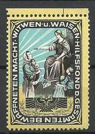 Germay Or Austria Weisenhilfsfond Charity Wohlfahrt Vignette Asyl MNH - Vignetten (Erinnophilie)