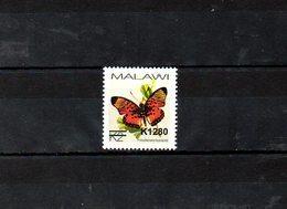 """MALAWI, 2018, BUTTERFLY, O/P, NEW VALUE, """"k1280"""" 1v. MNH** NEW! - Papillons"""