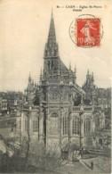 14 - CAEN - EGLISE ST PIERRE ABSIDE - Caen