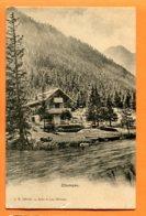 VAL036, Champex, Bazar Du Lac, L. M. 409, Circulée 1914 - VS Valais