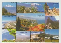 02.96  -  AK/CP/Postcard (Mehrbildkarte)  Spanien/Kanaren/Tenerifa - Gelaufen - Siehe Scans (esp 003) - Tenerife
