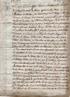 VP14.182 - TANINGES - Acte De 1768 - Rente Concernant Des Religieux De La Chartreuse De Mélan - Manuscripts