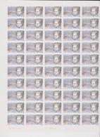 FRANCE 1 Feuille Compléte 50 T 2939 Vendu Sous Valeur Faciale - 1995 - Jean Giono - Feuilles Complètes