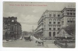 CPA Sri Lanka Ceylon Colombo Victoria Arcade York Street And Grand Oriental Hotel - Sri Lanka (Ceylon)