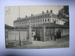 CPA Reims.Caserne Neufchatel. Bat B - Reims
