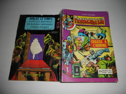 Album Relie Frankenstein N° 3218, Chasse A L' Homme + Meurtre Sur Ordinateur Comics Pocket - Frankenstein