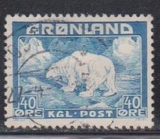 GREENLAND Scott # 8 Used - Polar Bear - Groenland