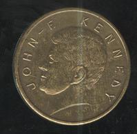 Jeton John-F. Kennedy - Aigle Sur L'autre Face - USA