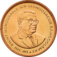 Monnaie, Mauritius, 5 Cents, 1999, SPL, Copper Plated Steel, KM:52 - Maurice