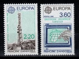 Andorre - YV 369 & 370 Europa 1988 N** Cote 13 Euros - French Andorra