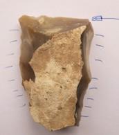 Prehistoire Silex Taillé Neolithique Tranchet - Archéologie