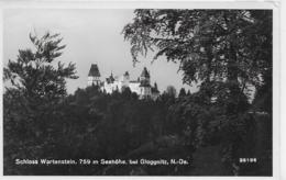 AK 0125  Schloss Wartenstein Bei Gloggnitz - Verlag Ledermann Um 1957 - Neunkirchen