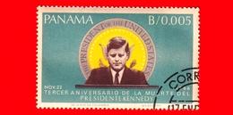 Nuovo - PANAMA - 1966 - 3° Anniversario Morte Di John Fitzgerald Kennedy (1917-1963) - 0.005 - Panama
