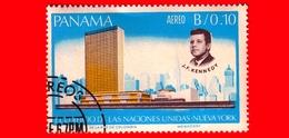 Nuovo - PANAMA - 1966 - 3° Anniversario Morte Di John Fitzgerald Kennedy (1917-1963) - 0.10 - P. Aerea - Panama