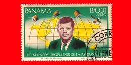 Nuovo - PANAMA - 1966 - 3° Anniversario Morte Di John Fitzgerald Kennedy (1917-1963) - 0.31 - P. Aerea - Panama