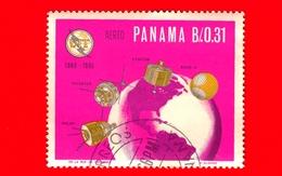 Nuovo - PANAMA - 1966 - 100 Anni Dell'UIT - ITU Centenary - Satelliti E Globo - 0.31 - P. Aerea - Panama