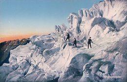 Rhonegletscher, Alpinistes Sur Le Glacier (6300) - Alpinisme