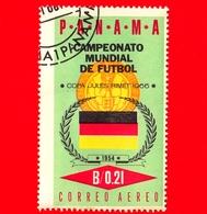 Nuovo - PANAMA - 1966 - Mondiali Di Calcio 1966, Inghilterra - Bandiera Della Germania- 0.21 - P. Aerea - Panama