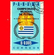Nuovo - PANAMA - 1966 - Mondiali Di Calcio 1966, Inghilterra - Bandiera Dell'Uruguay- 0.005 - Panama