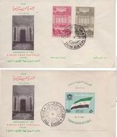 1961 Syria Shura Ordered Them Souvenir Sheets & Complete Set 2 Values  F.D.C - Syrië