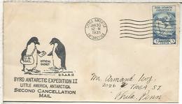 ESTADOS UNIDOS USA 1935 EXPEDICION ANTARTICA DE BYRD ANTARCTIC EXPEDITION LITTLE AMERICA - Expediciones Antárticas