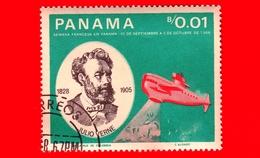 Nuovo - PANAMA - 1966 - Persone Famose - Giulio Verne - Nautilus - 0.01 - Panama
